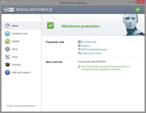 Techtrends How to update NOD32 antivirus manually