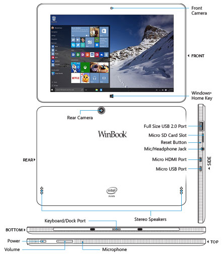 WinBook TW101 Tablet 823526